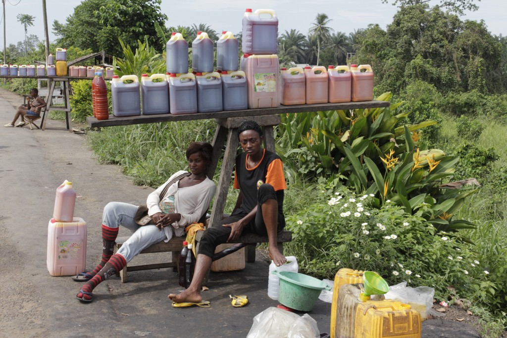 Palm oil trade in Cameroon