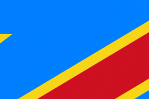 Flag of the Democratic Republic of Congo, photo by UNFCCC