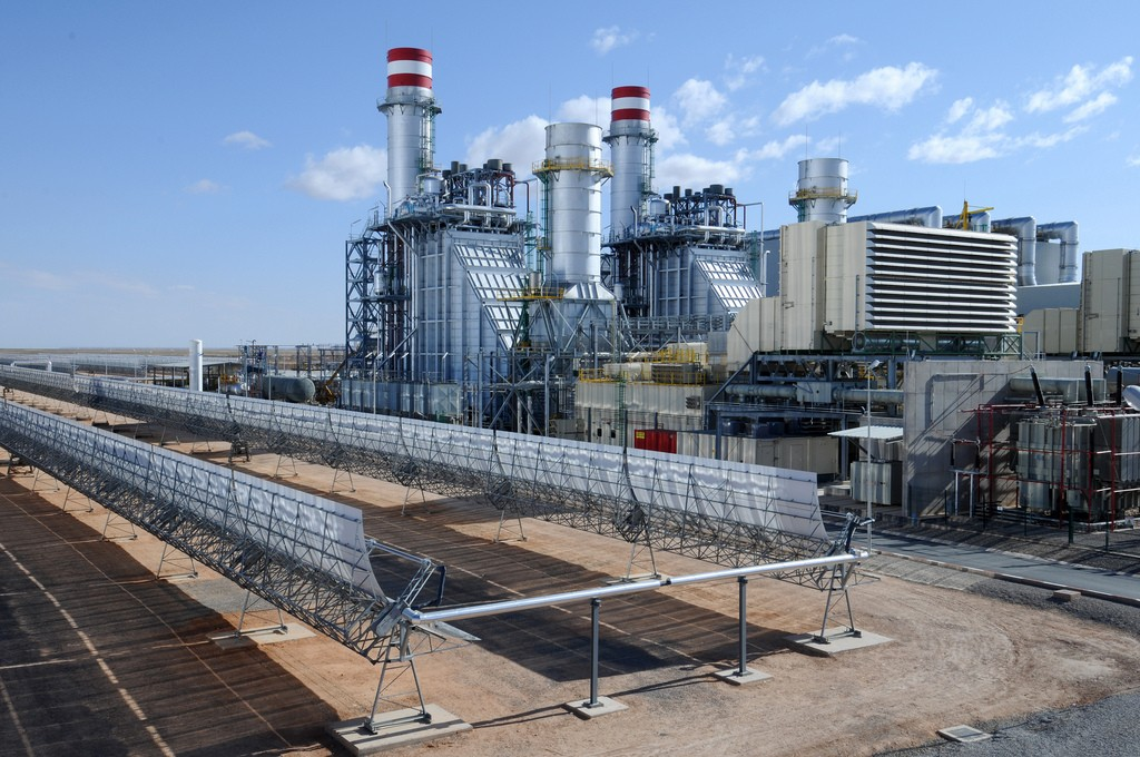 Ain Beni Mathar Integrated Combined Cycle Thermo-Solar Power Plant. Photo/World Bank
