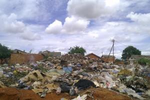 Au camp Maramba, une décharge transitoire qui n'a pas été vidée depuis plus de 6 mois