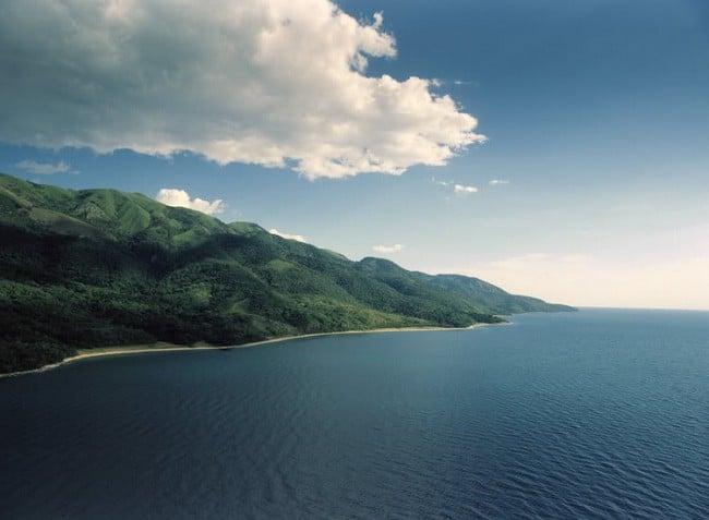 Vue du lac Tanganyika