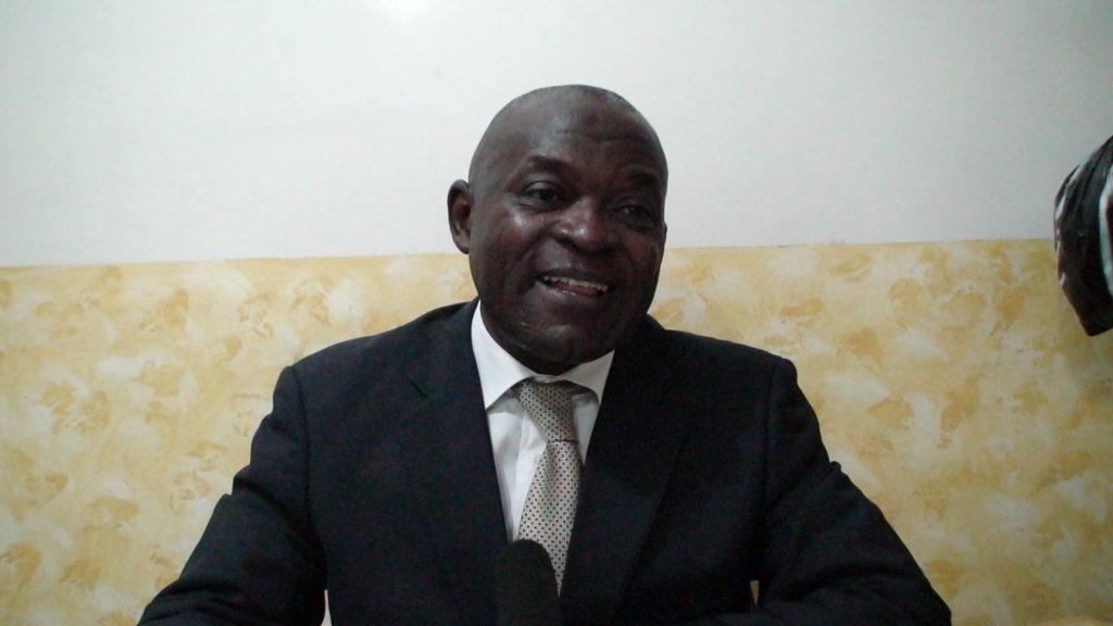 Pour Bienvenu Essomba, président du Collectif Mégawatt, un regroupement des syndicats d'électricité au Cameroun : « Il y a une faiblesse des politiques à s'approprier les programmes stratégiques que les autres pays qui sont en but à l'épuisement des énergies fossiles ont commencé à implémenter. Photo/Irénée Modeste Bidima, InfoCongo