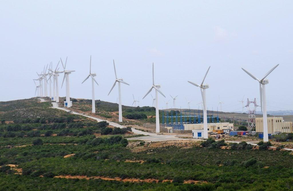 Les éoliennes sont déjà une réalité dans certains pays africains, notamment au Maroc et en Tunisie. Photo/Dana Smillie / World Bank