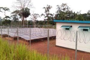 Centrale solaire du village de Ngang au Cameroun
