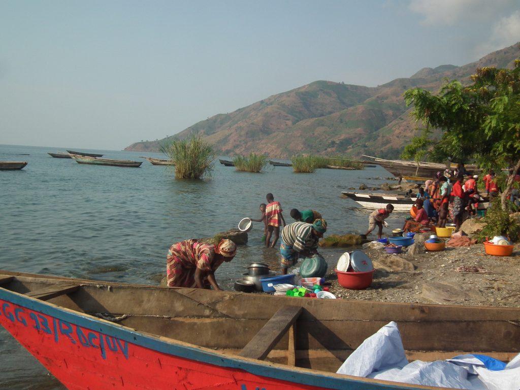 Activités sur le lac Tanganyika à Fizi