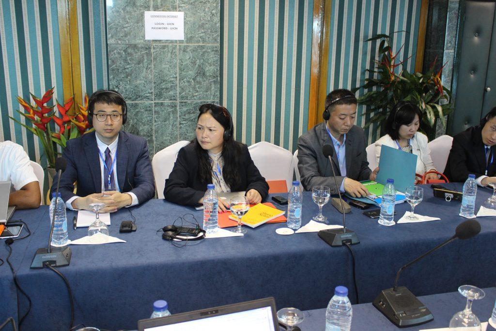 Quelques membres de la délégation Chinoise à l'atelier CITES/Douanes