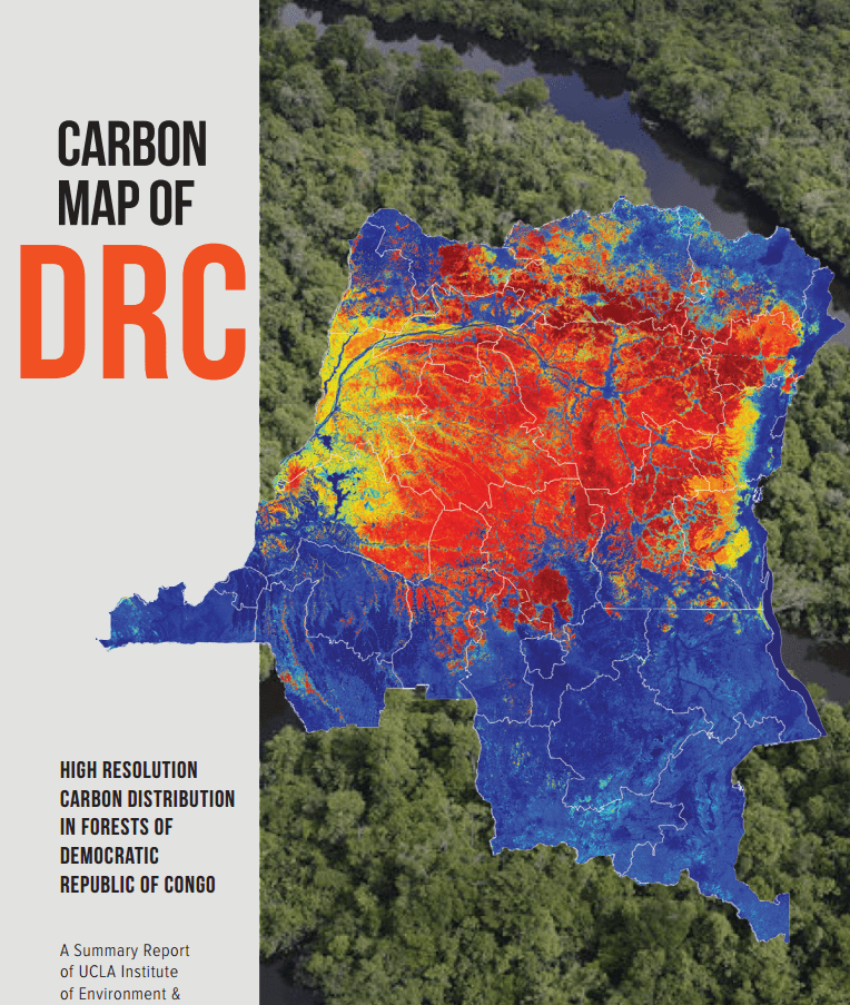 The new National Forest Carbon Map for the DRC is the product of the Carbon Map and Model (CM&M) started in 2012