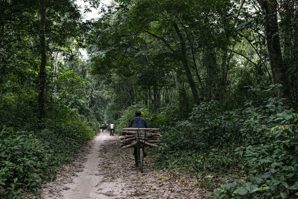 On the way from Kisangani to Masako village. Democratic Republic of Congo. Photo by Ollivier Girard/CIFOR.